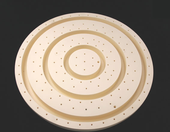 高純度アルミナN-99製(アルミナ99.5%以上)半導体製造装置用部品