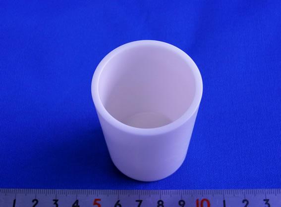 アルミナ99.9%るつぼ(高純度)