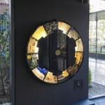 京都市産業技術研究所の創設100周年を記念して製作された大型時計のモニュメント1