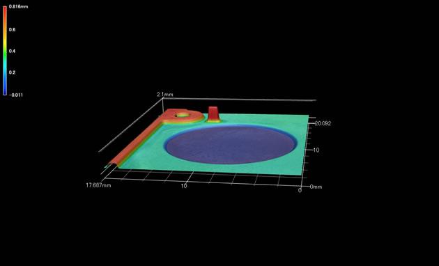 3D形状測定機測定事例