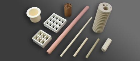 ヒーター用絶縁材/坩堝用/耐熱部品用